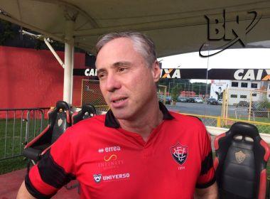 Régis Marrelli demonstra confiança, mas evita traçar meta para o Vitória