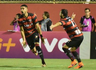 Vitória bate a Ponte Preta no Barradão e ameniza crise