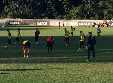 Com regenerativo e jogo-treino, Vitória inicia preparação contra o Flamengo