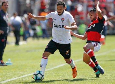 Vitória se impõe fora de casa, mantém boa sequência e derrota o Flamengo