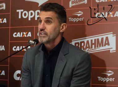 Mancini diz que situação financeira do Vitória 'não é das melhores'