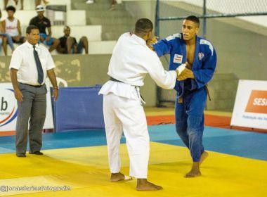 Judô: Atleta do Vitória, Gabriel Alves conquista a prata no Sul-Americano Sub-18