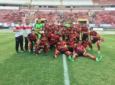 Copa do Brasil Sub-17: Rodrigo Chagas comemora triunfo e eliminação do jogo de volta