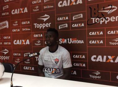 Kanu tranquiliza torcida do Vitória e espera voltar '100%' contra o Sport