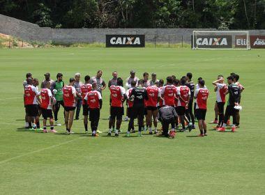 Vitória divulga relacionados para o confronto contra o Palmeiras