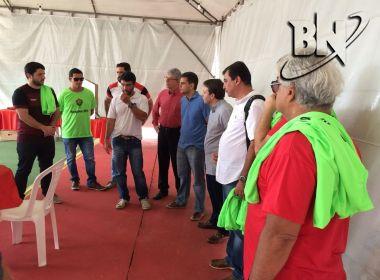 Eleição do Vitória: Representantes das chapas acompanham zerésima das urnas