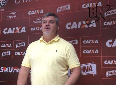 Giglio lamenta saída do Vitória, mas afirma: 'Admiro o clube e continuarei na torcida'