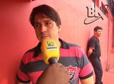 Vice-presidente do Vitória revela busca por mais quatro atletas