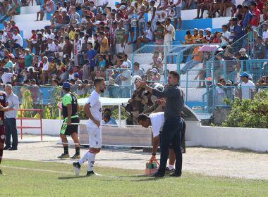 Mancini elogia equipe após triunfo sobre o Jacuipense: 'Não é fácil jogar aqui'