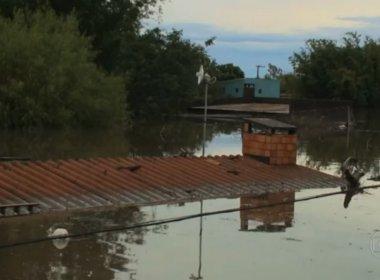 Enchente deixa 6,5 mil desabrigados no Rio Grande do Sul