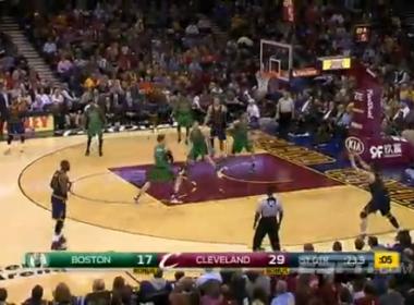 Cavaliers leva cesta no último segundo e perde do Celtics em casa na NBA