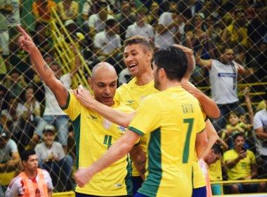 Seleção de futsal derrota Venezuela em estreia nas Eliminatórias da Copa do Mundo