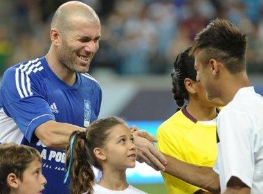 Zidane defende 'firulas' de Neymar: 'É bom para o espetáculo'