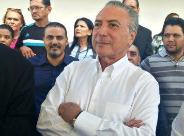 Sou candidato à Presidência da República, diz Temer, no Acre