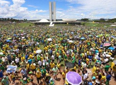 Governo fica surpreso com tamanho da manifestação e aliviado com caráter pacífico