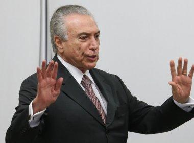 TEMER MANDA SUSPENDER PATROCÍNIO DE BLOQUEIROS LIGADOS AO GOVERNO DO PT
