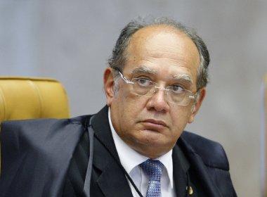 Gilmar Mendes manda de volta à PGR segundo pedido de inquérito contra Aécio