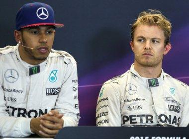 Hamilton e Rosberg negam clima de tensão em Mônaco após acidente na Espanha