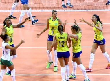 Seleção feminina de vôlei supera a Itália de virada no Grand Prix