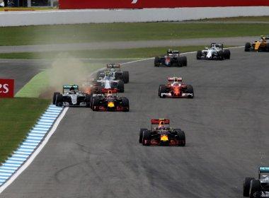Hamilton supera Rosberg na Alemanha, vence 4ª seguida e abre vantagem na ponta