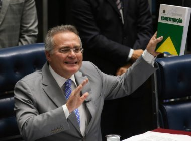 Renan diz em nota que é com humildade que Senado recebe decisão do STF
