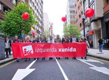 Espanhóis protestam em Madri contra políticas trabalhistas