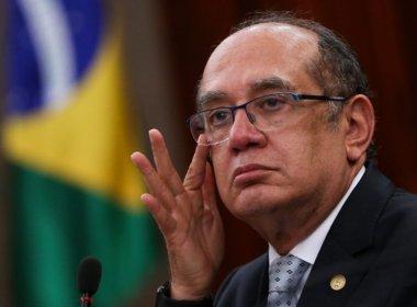 Ex-PGR pede ao Supremo que Senado analise impeachment de Gilmar Mendes