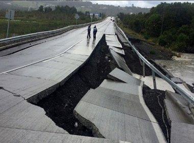 Chile é atingido por terremoto de magnitude 7,7; alerta de tsunami é emitido