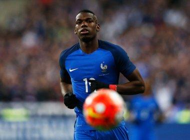 Pogba é cortado da França por lesão e meia do Monaco é chamado para substituí-lo