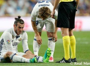 Real confirma lesão e Bale vira dúvida para semifinal da Liga dos Campeões