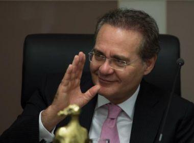 Após reunião, bancada do PMDB decide manter Renan na liderança do Senado