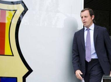 Espanha investiga papel de Rosell e Teixeira no contrato do Barcelona com o Catar