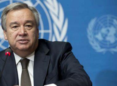 Chefe da ONU diz que outras forças podem substituir o vazio deixado pelos EUA