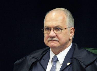 Fachin nega crise institucional e diz que não se pode demonizar a política
