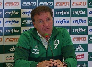 Cuca diz que não conta mais com Felipe Melo, mas nega afastamento do jogador