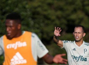 Mina e Guerra desfalcam o Palmeiras contra o Botafogo
