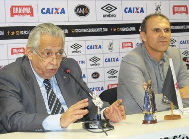 Eurico justifica demissão de Milton Mendes no Vasco: 'Faltou resultado'