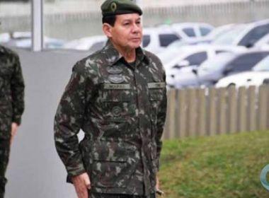 GENERAL DO EXÉRCITO SE MANIFESTA CONTRA  CRISE MORAL NA POLÍTICA DO PAÍS