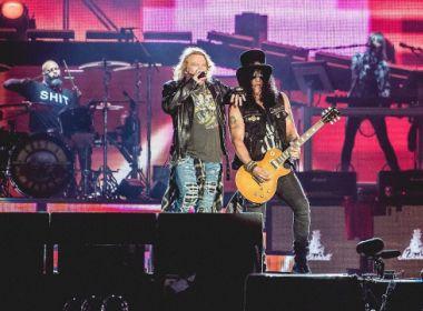 Com mais de 3h de show, Guns N' Roses se redime com Rock in Rio depois de seis anos