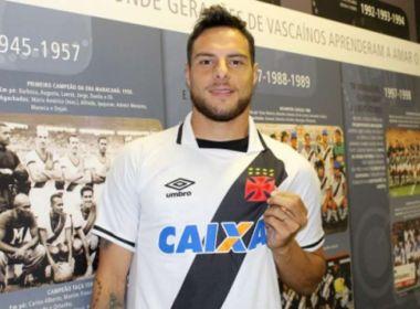 Argentino Leandro Desábato é oficializado como 1º reforço do Vasco para 2018
