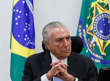 Temer calcula ter R$ 30 bilhões para aprovar reforma da Previdência até fevereiro