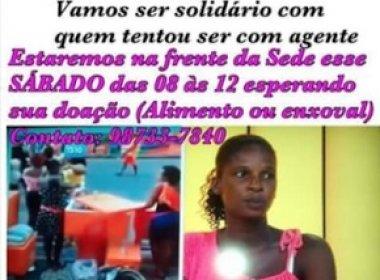 Foliões de 'As Muquiranas' fazem ação em prol de vendedora ambulante injustiçada por vídeo