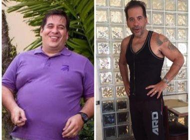 Leandro Hassum choca ao mostrar antes e depois nas redes sociais: 'Vitória'