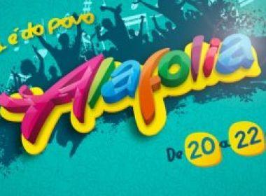 Prefeitura de Alagoinhas divulga atrações e datas do 'Alafolia 2016'