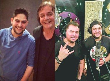 Jorge, da dupla com Mateus, grava músicas com Xand e Fábio Jr em São Paulo