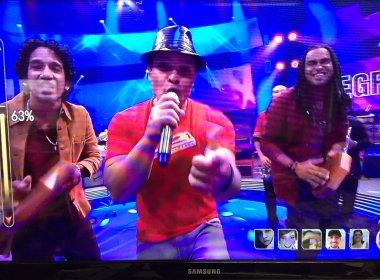 Negra Cor faz telão do Superstar subir com mashup de Tim Maia e Bruno Mars