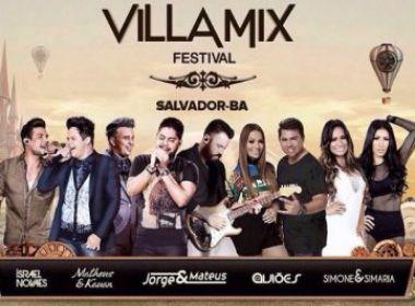 Villa Mix Salvador confirma show de Simone e Simaria e fecha grade de atrações; Confira