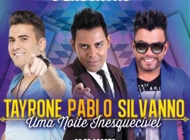 'Uma noite inesquecível': Pablo, Tayrone e Silvano Salles fazem show em Salvador