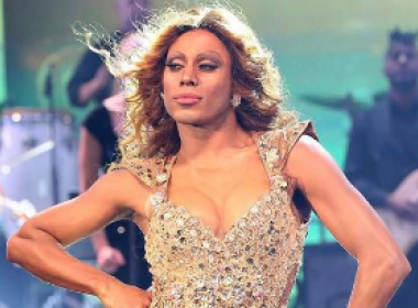 Ícaro Silva impressiona a web após encarnar Beyoncé em 'Show dos Famosos'