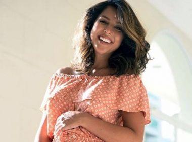 Nasce filha dos atores Yanna Lavigne e Bruno Gissoni: 'Bem-vinda!'